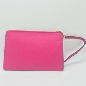 Hot Pink Kate spade wristlet wallet